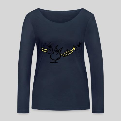 trompetenvogel - Frauen Bio-Langarmshirt von Stanley & Stella