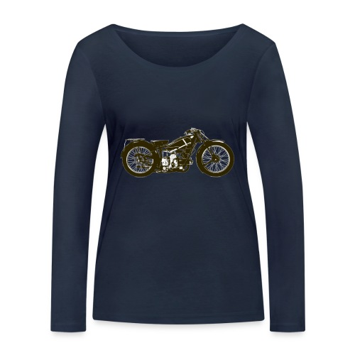 Classic Cafe Racer - Women's Organic Longsleeve Shirt by Stanley & Stella