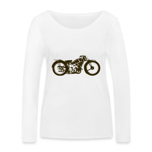 Classic Cafe Racer - Women's Organic Longsleeve Shirt by Stanley & Stella