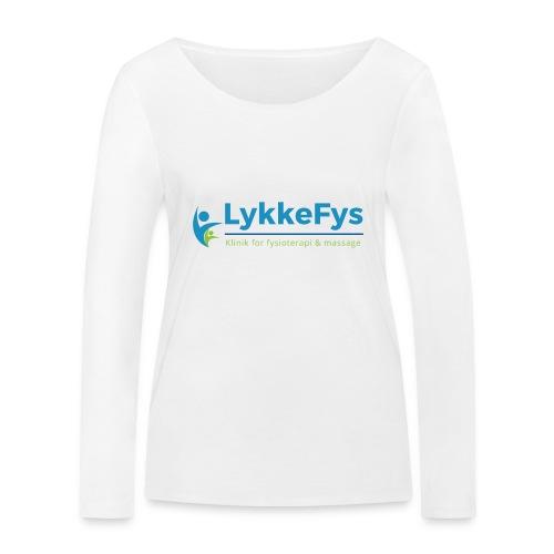 Lykkefys Esbjerg - Økologisk Stanley & Stella langærmet T-shirt til damer