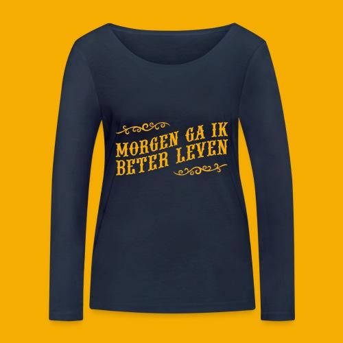tshirt yllw 01 - Vrouwen bio shirt met lange mouwen van Stanley & Stella