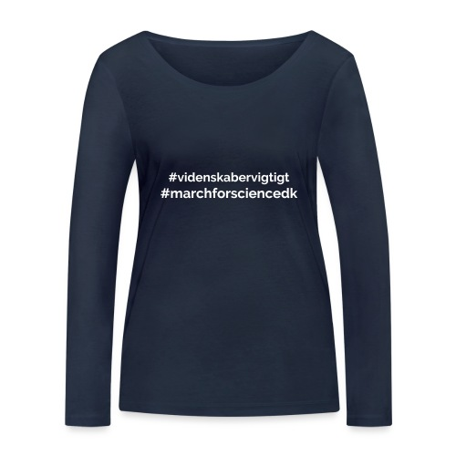 March for Science Danmark - Women's Organic Longsleeve Shirt by Stanley & Stella