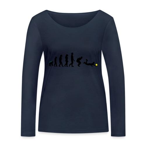 Evolution Defense - Maglietta a manica lunga ecologica da donna di Stanley & Stella