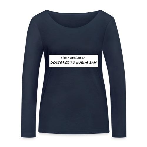 firma kurierska tyl - Ekologiczna koszulka damska z długim rękawem Stanley & Stella
