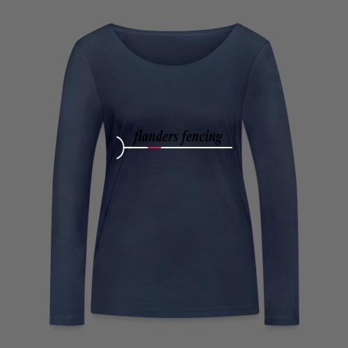 Flanders Fencing - Vrouwen bio shirt met lange mouwen van Stanley & Stella