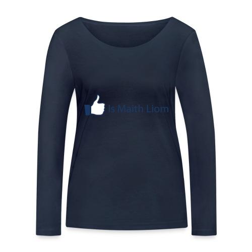 like nobg - Women's Organic Longsleeve Shirt by Stanley & Stella