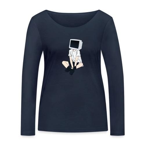 Monitor Head 3 - Women's Organic Longsleeve Shirt by Stanley & Stella
