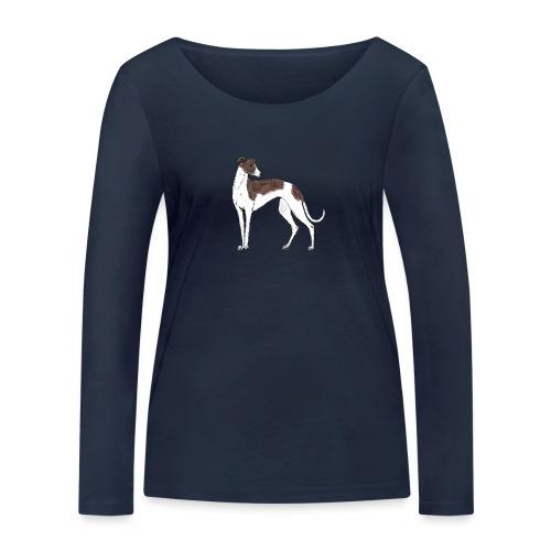 Greyhound - Frauen Bio-Langarmshirt von Stanley & Stella