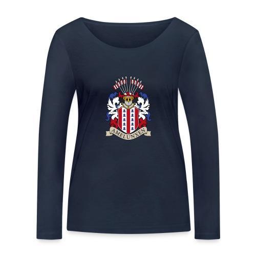 Wappen historisch Name - Frauen Bio-Langarmshirt von Stanley & Stella