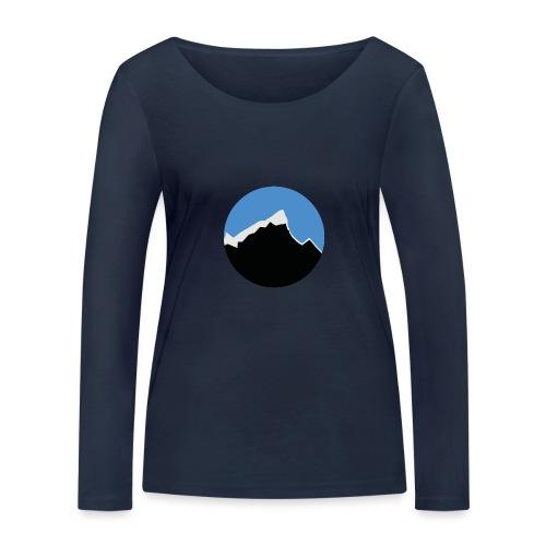 FjellTid - Økologisk langermet T-skjorte for kvinner fra Stanley & Stella