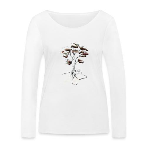 Notre mère Nature - T-shirt manches longues bio Stanley & Stella Femme