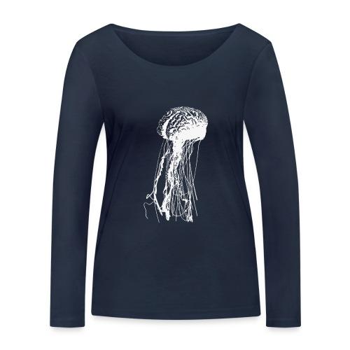 Jellybrain - Frauen Bio-Langarmshirt von Stanley & Stella
