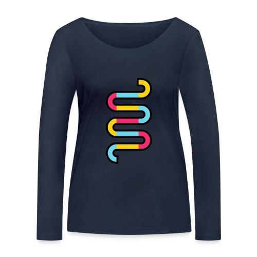 Die DNA deines Unternehmens - Frauen Bio-Langarmshirt von Stanley & Stella