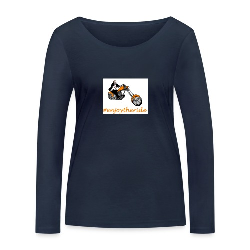 enjoytheride - T-shirt manches longues bio Stanley & Stella Femme