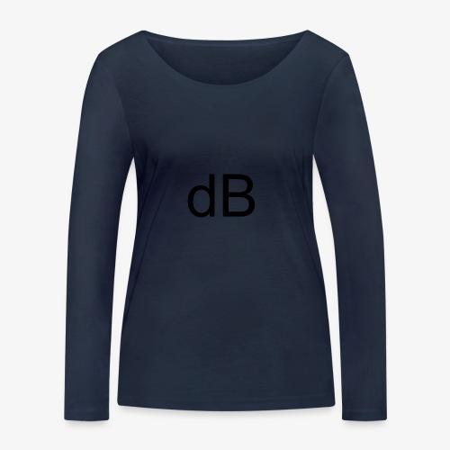 dB DAVID B. - Maglietta a manica lunga ecologica da donna di Stanley & Stella