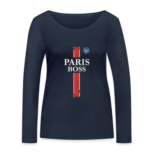 parisfinal11.png - T-shirt manches longues bio Stanley & Stella Femme