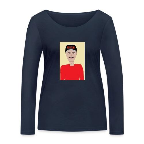 DJ , new shirt - Ekologisk långärmad T-shirt dam från Stanley & Stella