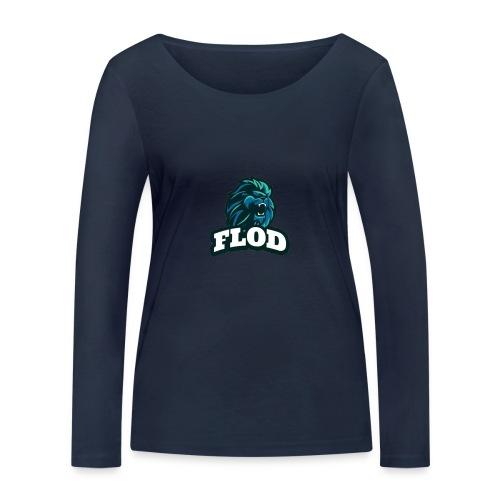 Mijn FloD logo - Vrouwen bio shirt met lange mouwen van Stanley & Stella
