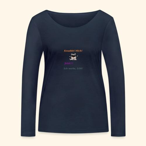 Hunde Knuddeln - Women's Organic Longsleeve Shirt by Stanley & Stella