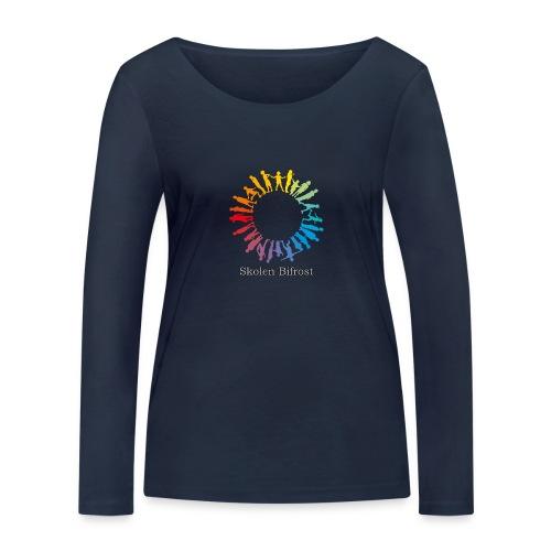 Skolen Bifrost - Økologisk Stanley & Stella langærmet T-shirt til damer