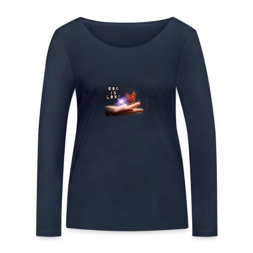 3CAE1CD5 8929 4123 8BBE CFF870730923 - Økologisk Stanley & Stella langærmet T-shirt til damer