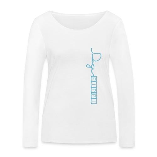 DP Logo Blue - Økologisk Stanley & Stella langærmet T-shirt til damer