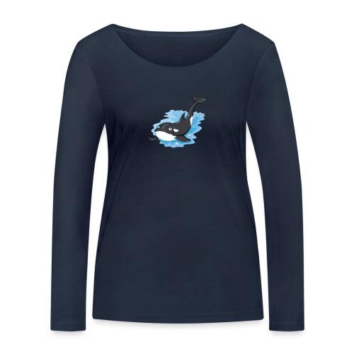 Orca - Frauen Bio-Langarmshirt von Stanley & Stella