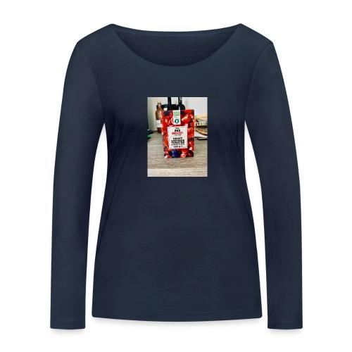 Tomato - Økologisk Stanley & Stella langærmet T-shirt til damer