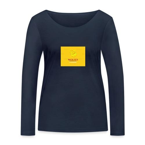 wolfes - Økologisk Stanley & Stella langærmet T-shirt til damer