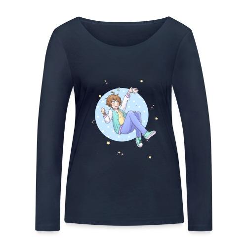 Galaxy Girl - Camiseta de manga larga ecológica mujer de Stanley & Stella