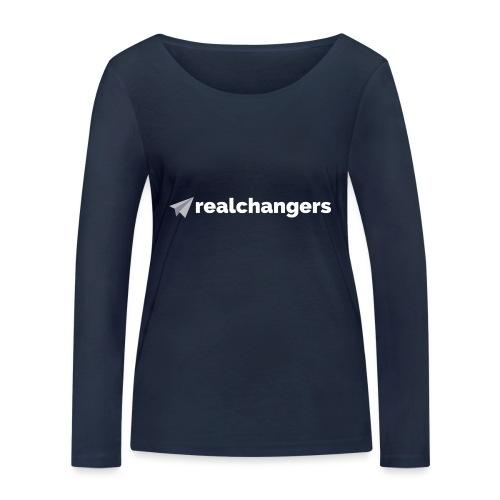 realchangers - Women's Organic Longsleeve Shirt by Stanley & Stella