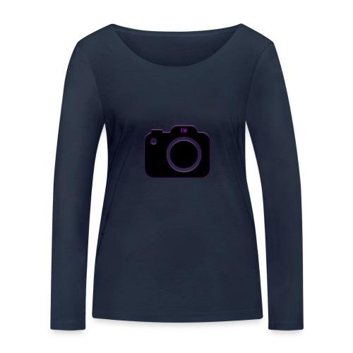 FM camera - Women's Organic Longsleeve Shirt by Stanley & Stella