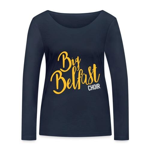 Big Belfast Choir Yellow white - Women's Organic Longsleeve Shirt by Stanley & Stella