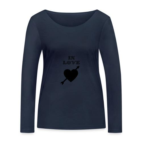 I'm In Love - Maglietta a manica lunga ecologica da donna di Stanley & Stella