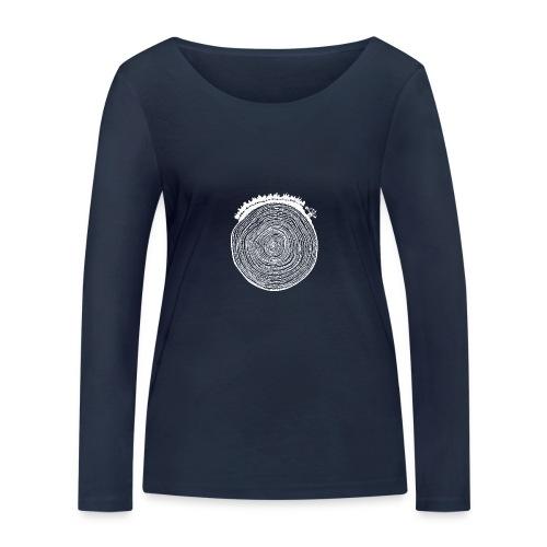 Kattoo Weiß - Frauen Bio-Langarmshirt von Stanley & Stella