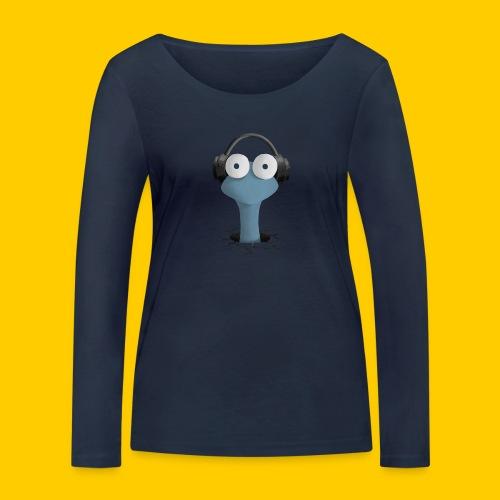 Musicworm - Ekologisk långärmad T-shirt dam från Stanley & Stella