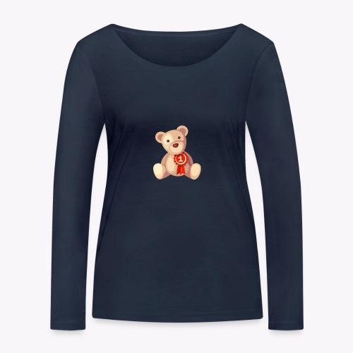 Teddy Bear - Women's Organic Longsleeve Shirt by Stanley & Stella