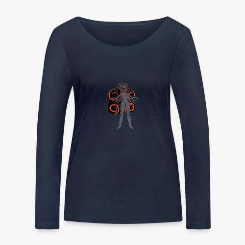 obsidian universe - Women's Organic Longsleeve Shirt by Stanley & Stella