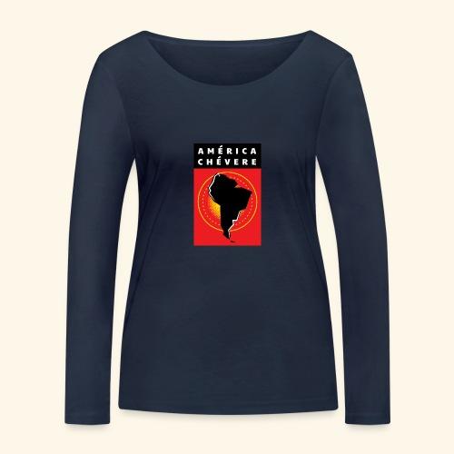 América Chévere Color - Frauen Bio-Langarmshirt von Stanley & Stella