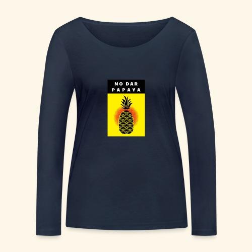 No dar Papaya - Frauen Bio-Langarmshirt von Stanley & Stella