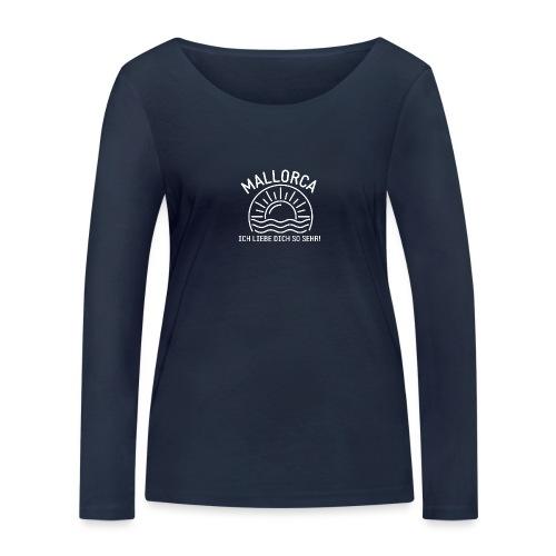 Mallorca Liebe - Das Design für echte Mallorcafans - Frauen Bio-Langarmshirt von Stanley & Stella