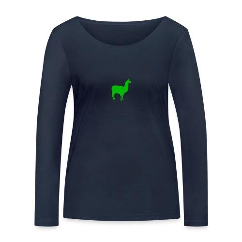 Lama - Vrouwen bio shirt met lange mouwen van Stanley & Stella