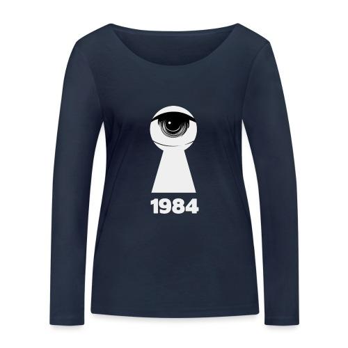 1984 - Maglietta a manica lunga ecologica da donna di Stanley & Stella
