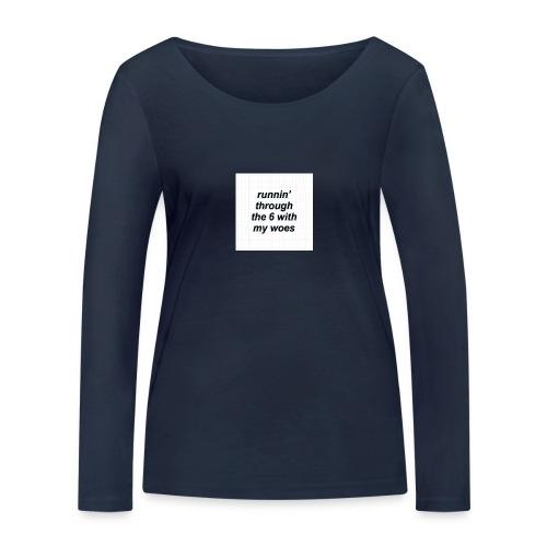 cap woes - Vrouwen bio shirt met lange mouwen van Stanley & Stella