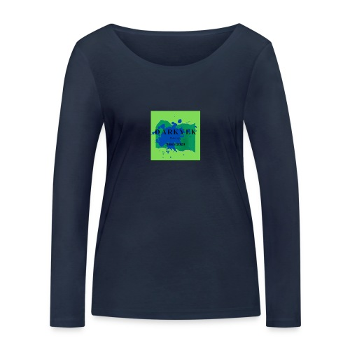 darkyek design green - Camiseta de manga larga ecológica mujer de Stanley & Stella