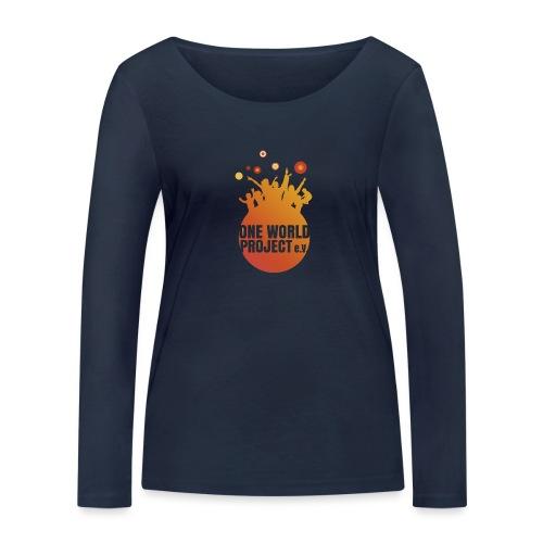 One World Project e. V. - Logo - Frauen Bio-Langarmshirt von Stanley & Stella