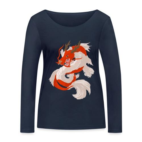 Dragon koi - Maglietta a manica lunga ecologica da donna di Stanley & Stella