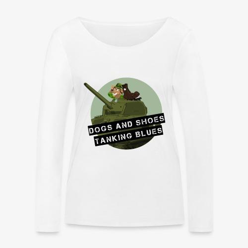 logo dogs nieuw - Vrouwen bio shirt met lange mouwen van Stanley & Stella