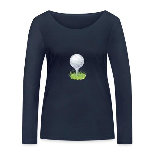 Golf Ball PNG Clipart - Camiseta de manga larga ecológica mujer de Stanley & Stella