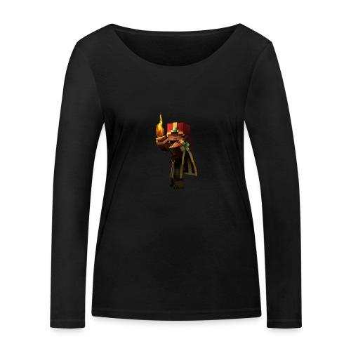 Musmatta - Ekologisk långärmad T-shirt dam från Stanley & Stella